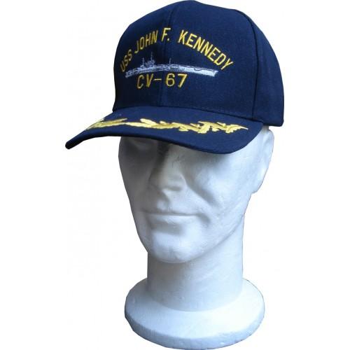CASQUETTE MOTIF USS KENNEDY