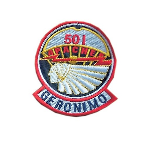 05 PATCHES 501 GERONIMO