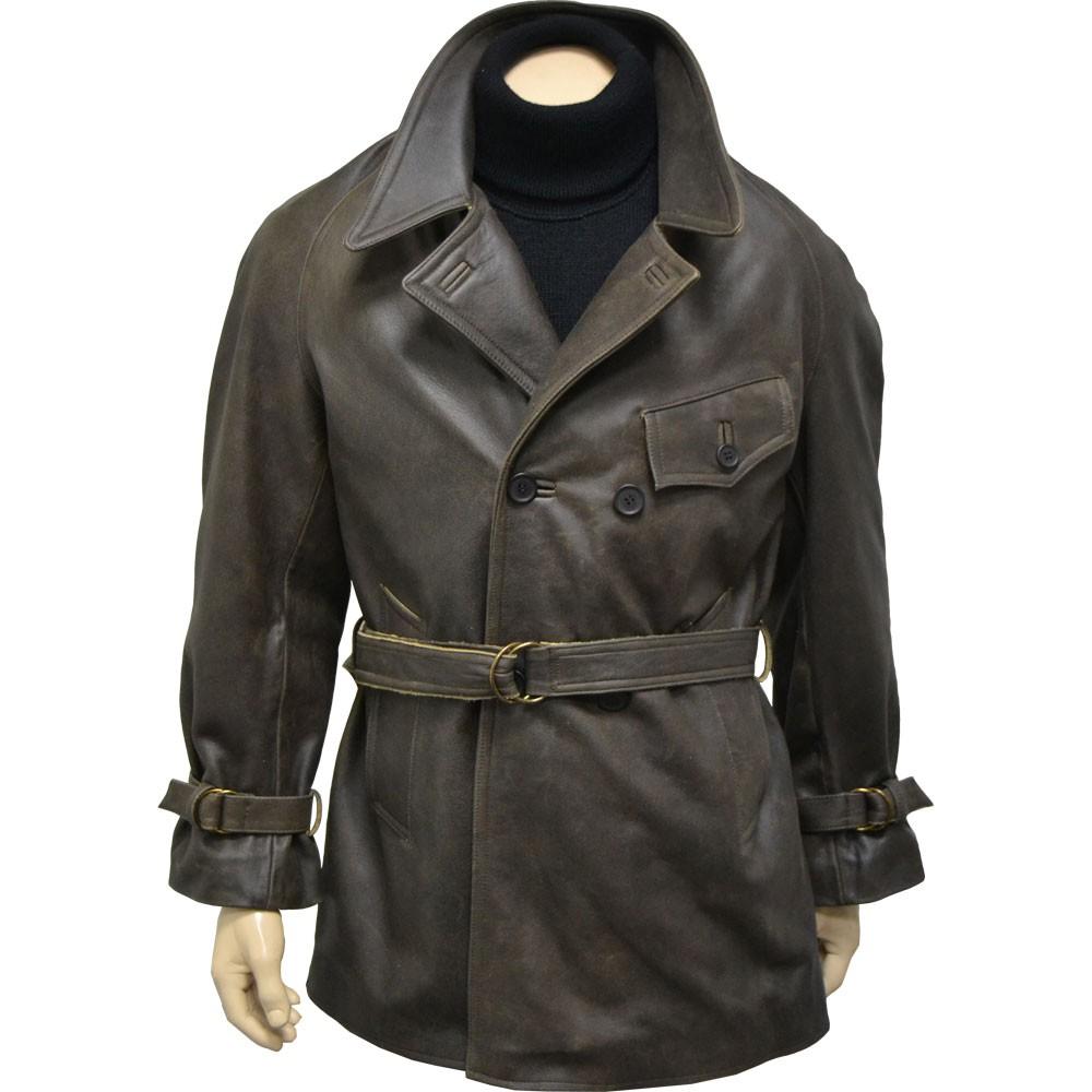 veste 34 cuir fran231aise quotmod232le 1936quot
