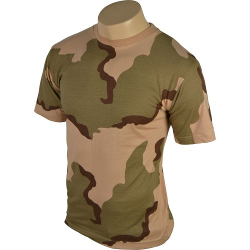TEE SHIRT CAMO 3 COLORS