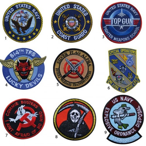 PATCH TISSU US NAVY