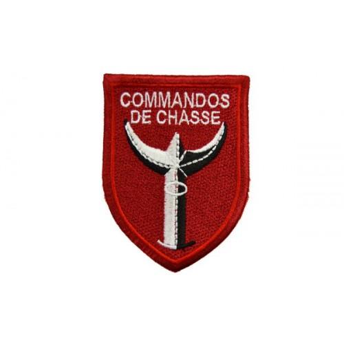 ECUSSON DE MANCHE COMMANDO DE CHASSE