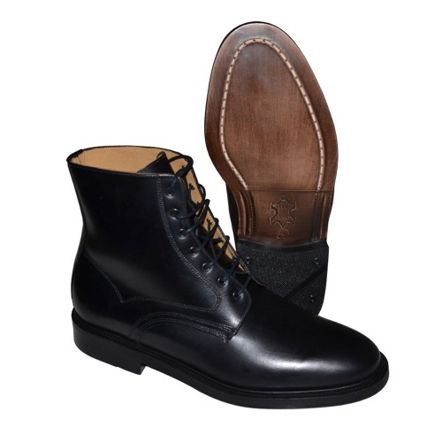 BOTTINES OFFICIER NOIRE