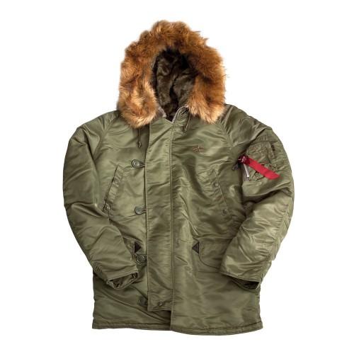 PARKA N-3B. (Extreme cold weather)«  ALPHA »