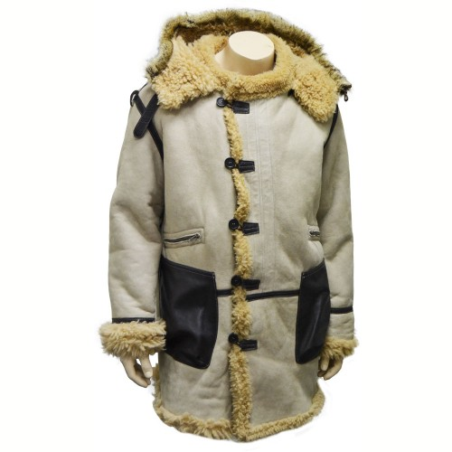 B-7 SHEEPSKIN FLIGHT PARKA JACKET