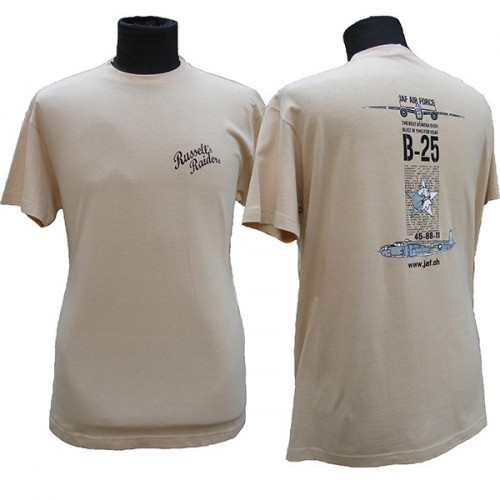 TEE SHIRT RUSSELL'S RAIDERS B25