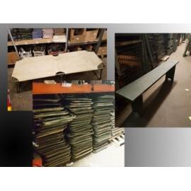 Les lits de camps chaise militaires doursoux for Chaise us ww2