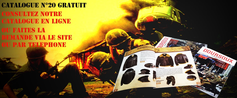 Le Catalogue le plus célèbre des surplus militaires de france