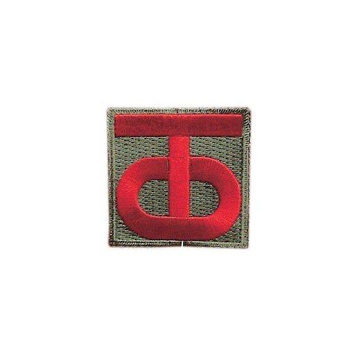 08 PATCHES 90EME DIVISION US