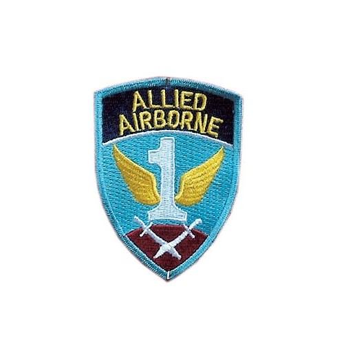 09 PATCHES 1ST ALLIED AIRBORNE ARMY