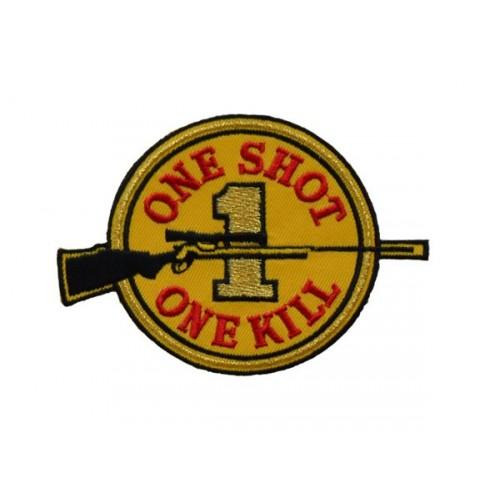 "10 "" ONE SHOT ONE KILL"