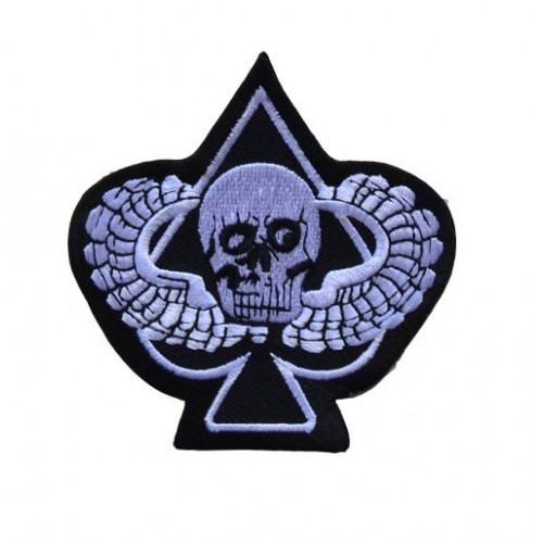 "07 "" WINGS SKULL ACE"