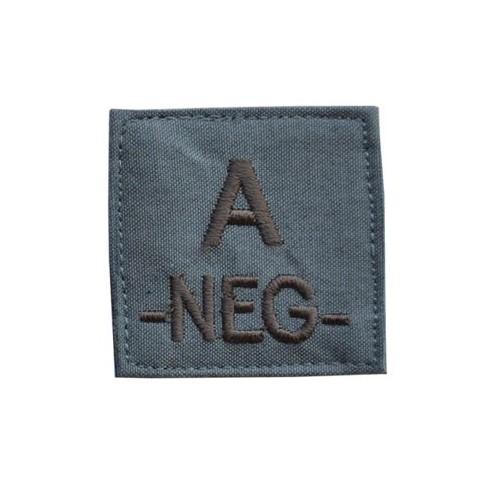 PATCHES GROUPE SANGUIN A-NEG-