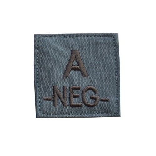 PATCHES GROUPE SANGUIN A-NEG-