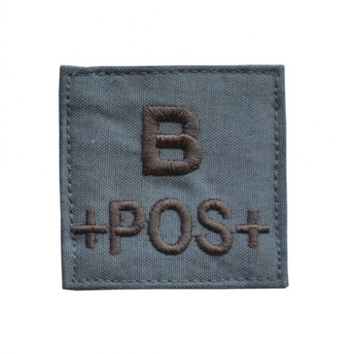 "03"" PATCHES GROUPE SANGUIN B-POS"