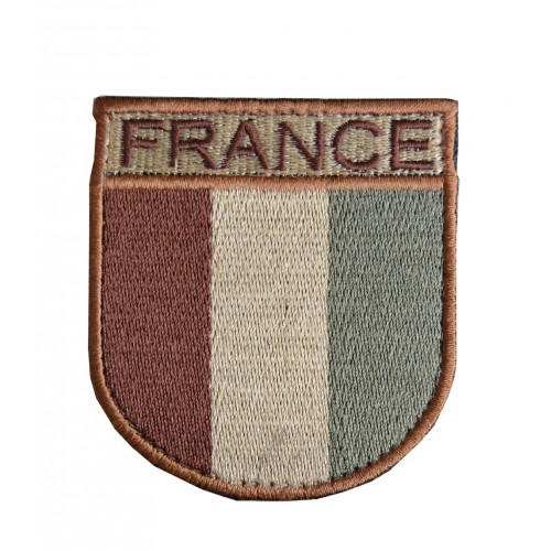 BLASON FRANCE ARMEE FRANCAISE DESERT