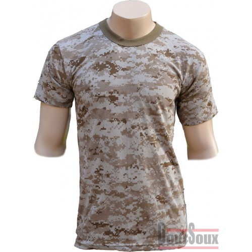 US DIGITAL CAMO TEE SHIRT