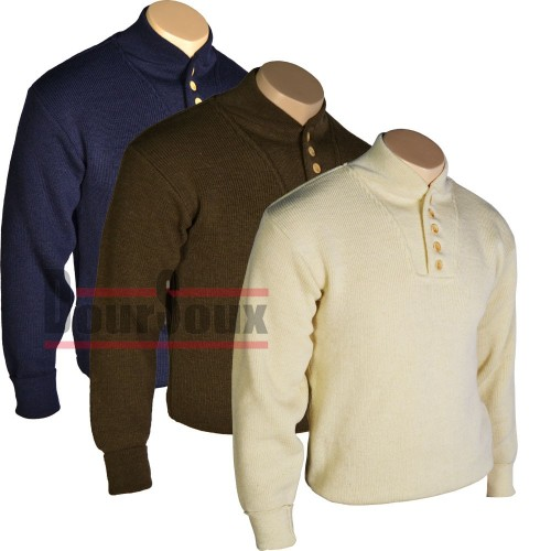 HIGH NECK MILITARY ISSUE SWEATER