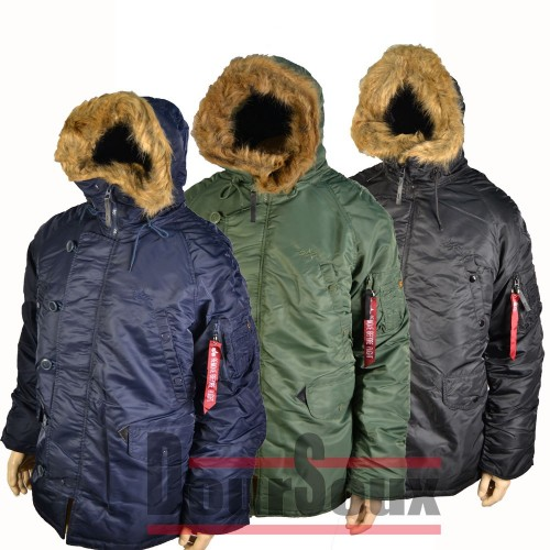 N-3B. (Extreme cold weather). PARKA. «  ALPHA »