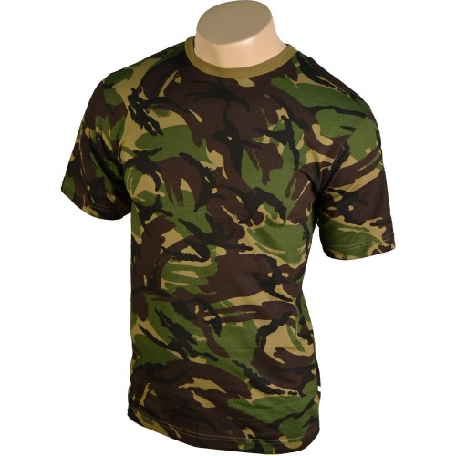 BRITISH DPM CAMO TEE SHIRT
