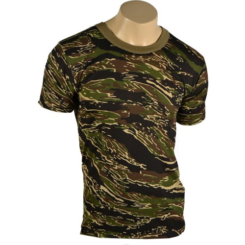 US CAMO TIGER TEE SHIRT