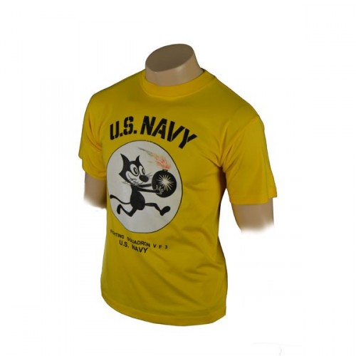 TEE SHIRT US NAVY FIGHTING VF3