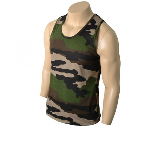 FRENCH CENTRE EUROPE CAMO TANK TOP