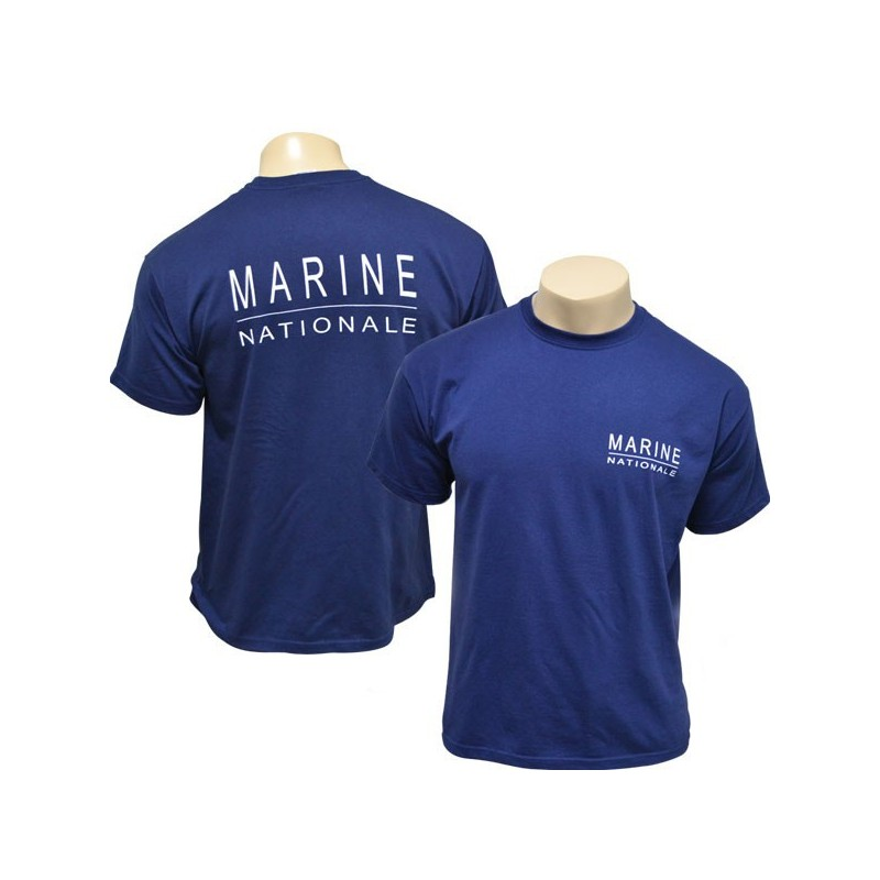 TEE SHIRT MARINE NATIONALE