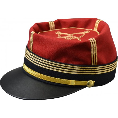 KEPI D'OFFICIER FORME FOULARD COMMANDANT