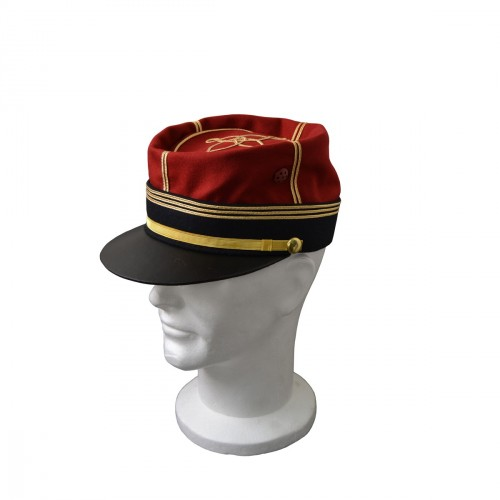 KEPI D'OFFICIER FORME FOULARD CAPITAINE