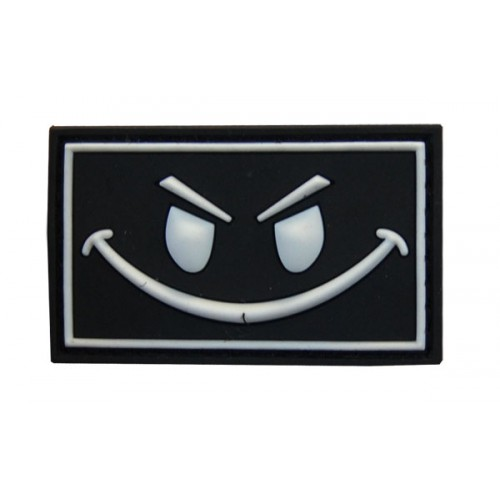 SMILEY NOIR FLUORESCENT