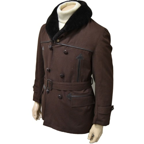 SYNTHETIC-LINED LUMBER JACKET