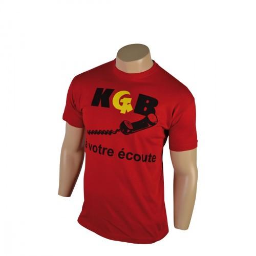 KGB A VOTRE ECOUTE TEE SHIRT