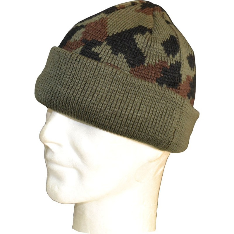 WOODLAND CAMO WOOLY HAT