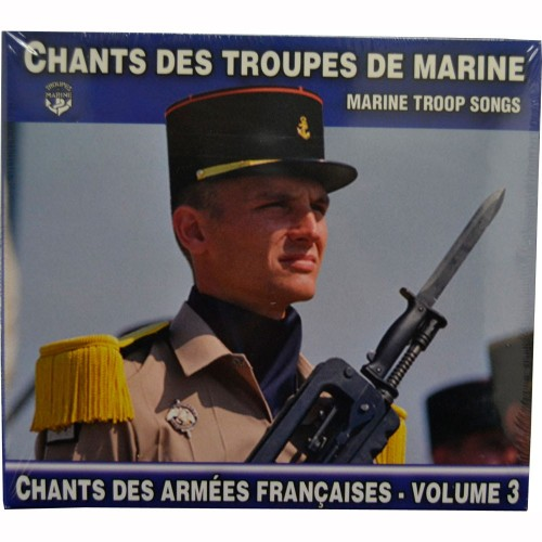 CD FRENCH SONGS OF THE NAVY