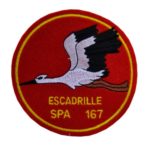ESCADRILLE  SPA 167 LAFAYETTE LUXEUIL