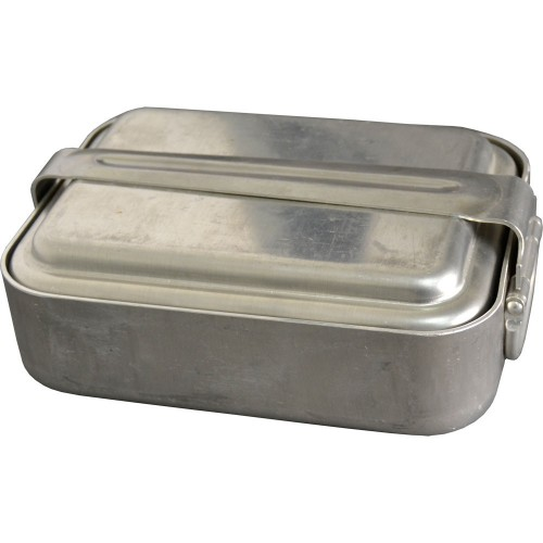 ALUMINIUM MESS KIT.