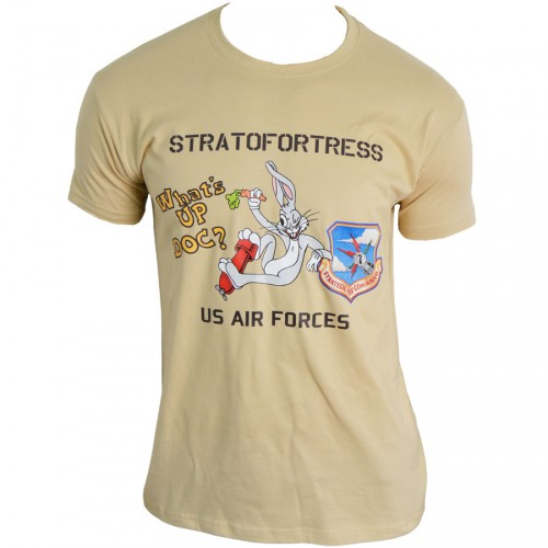 TEE SHIRT US AIR FORCE STRATOFORTRESS