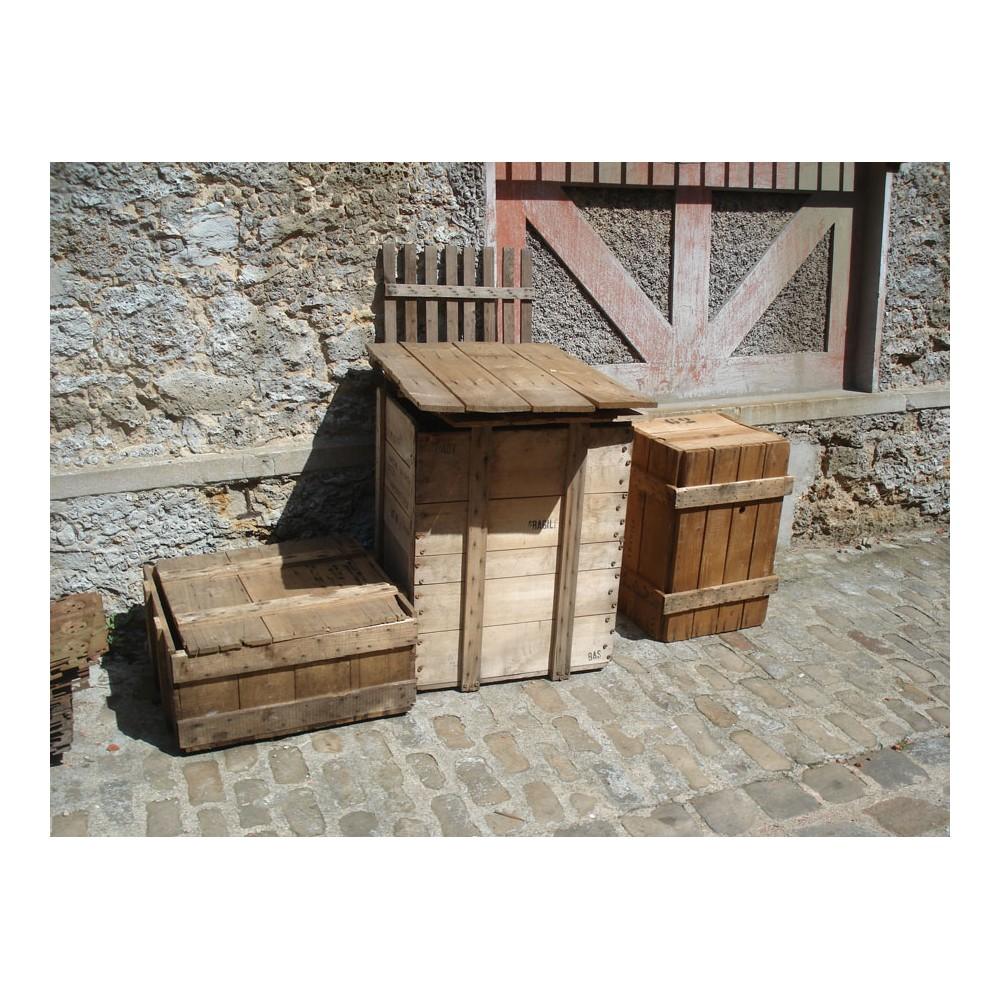 Caisse en bois de d coration - Caisse en bois deco ...