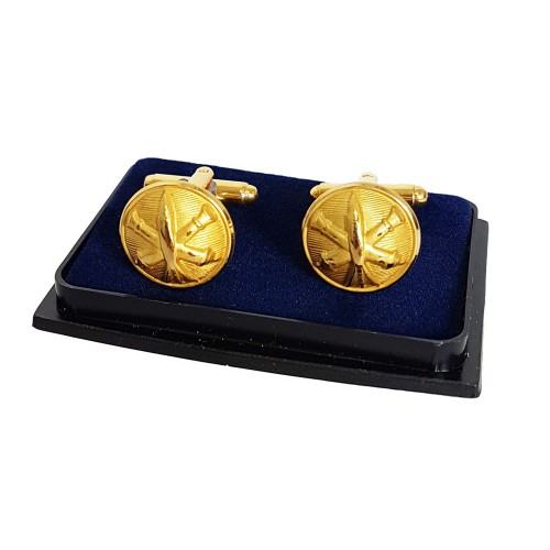 CUFFLINK FRENCH ARTILLERY