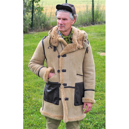 B7 SHEEPSKIN FLIGHT PARKA