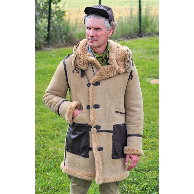B7 SHEEPSHIN FLIGHT PARKA JACKET