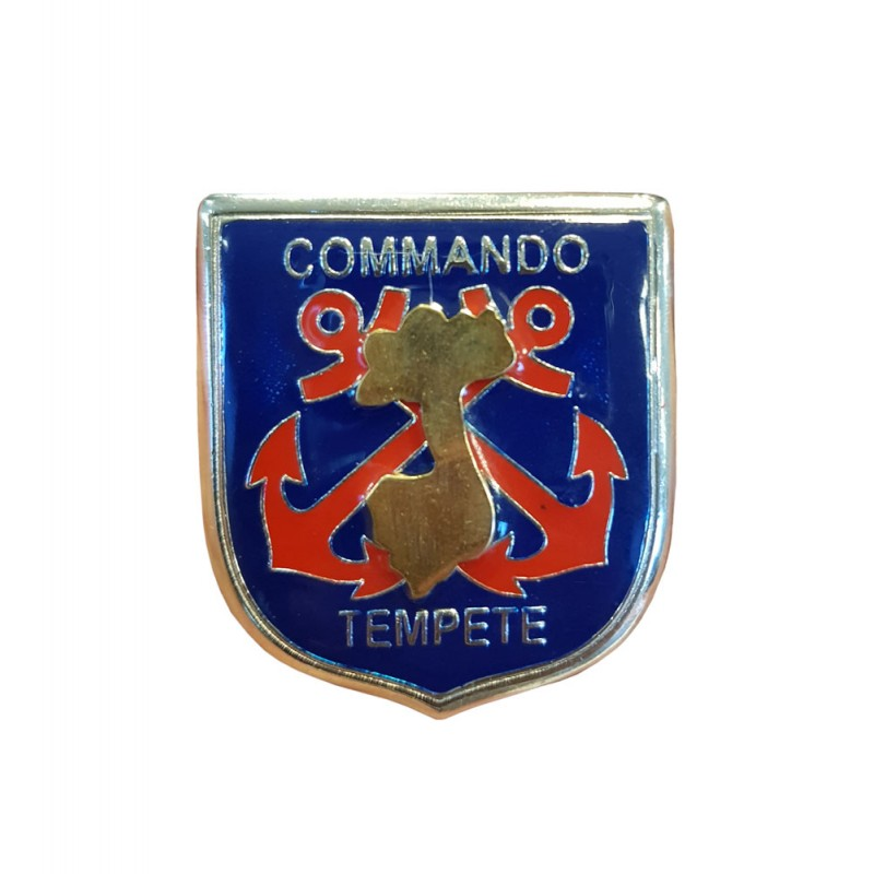 FRENCH BADGE OF COMMANDO STORM