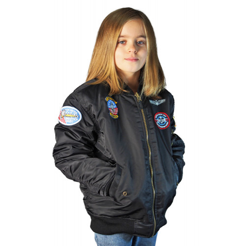 US BOMBER AVIATOR MA-1 ENFANT