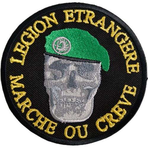 PATCHE LEGION ETRANGERE MARCHE OU CREVE