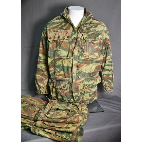 ORIGINAL VINTAGE FRENCH ARMY AIRBORNE JACKET