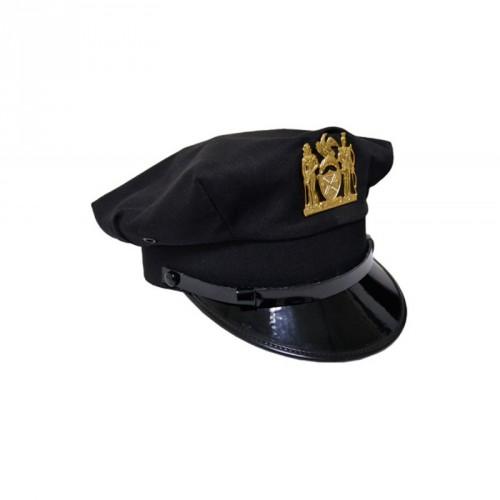 INSIGNE DE CASQUETTE POLICE