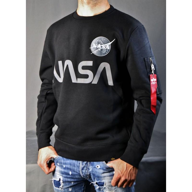 SWEAT SHIRT NASA REFLECTIVE ALPHA