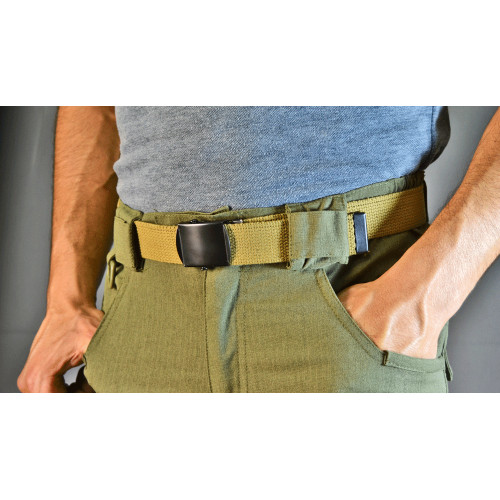 CEINTURE SANGLE COYOTE