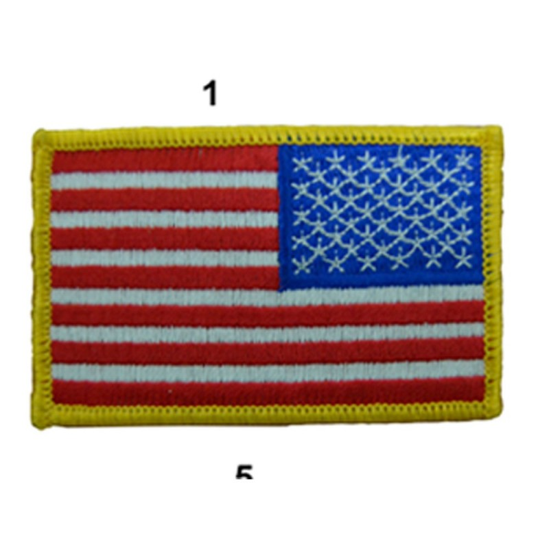 US ARMY FLAG SLEEVES DROIT FULL COLOR